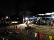 Hwy 49 crossing aid station.
