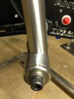 4mm offset seat tube for tire clearance