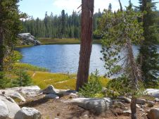 Sand Ridge Lake, Hole in the Ground Trail, Donner Pass.