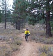 Sean on Emigrant Trail