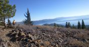 Heyride on the Tahoe Rim Trail