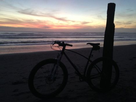 Knardbike_Aptos_Sunset
