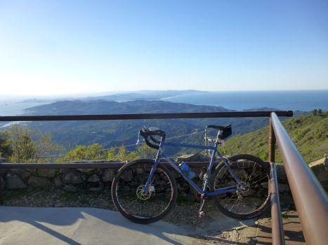 East Peak lookout. SF on left.
