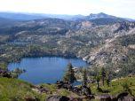 Sierra Buttes, Long Lake.