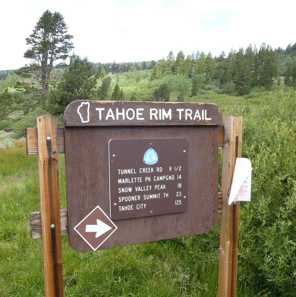Tahoe Rim Trail tour (5/6)