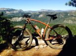 Got out for a ride last week in Truckee. Up Cold Stream canyon to the crest. Then looped back down some fun stuff.