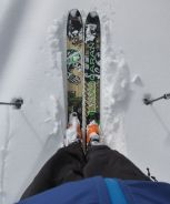 My new (to me) skis!